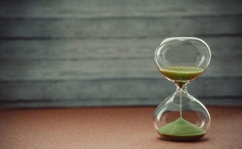 Sand Running Through an Hourglass - available from Envato Elements