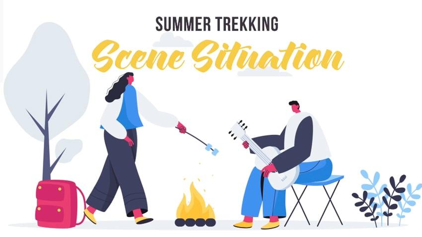 Summer Trekking - from Envato Elements
