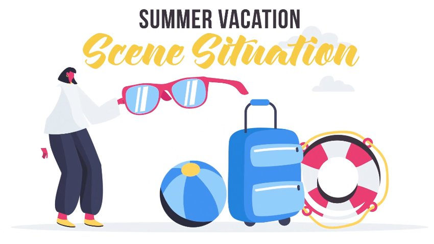 Summer Vacation - available from Envato Elements
