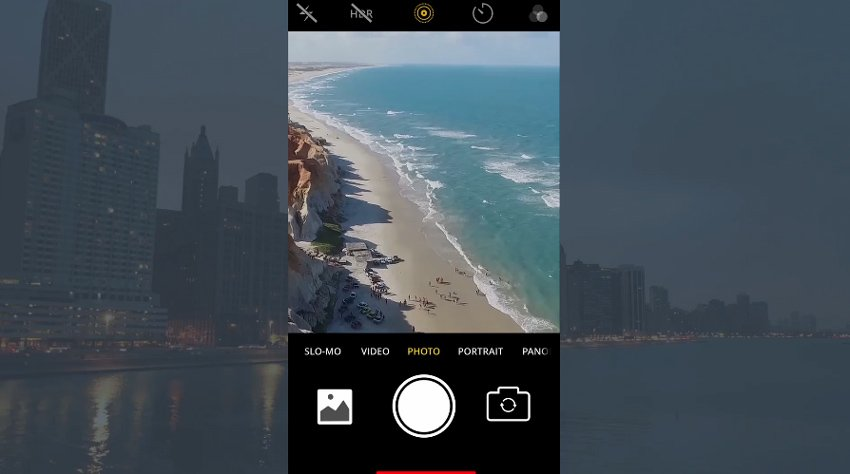 Phone Camera Screen Pack - from Envato Elements