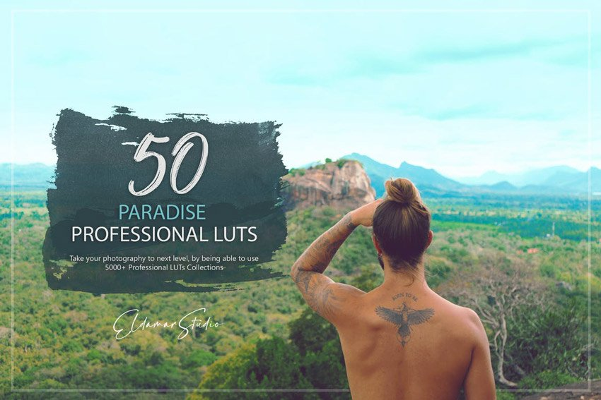 50 Paradise LUTs Pack - from Envato Elements