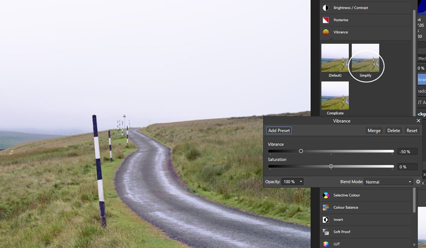 Make changes to the LUT effect