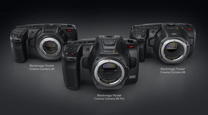 blackmagic pocket cinema camera