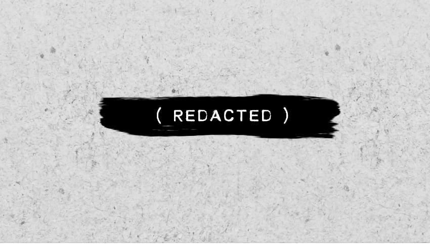 Redacted Titles