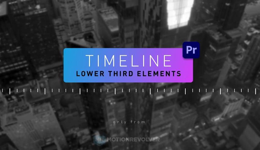 Timeline Lower Third Elements