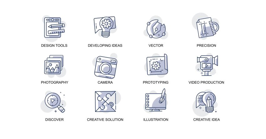 Design and development - Animation Icons