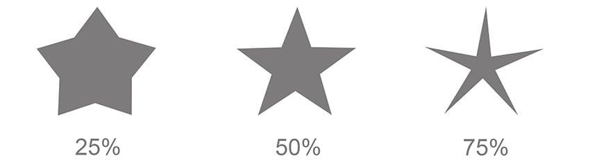 Star Path Option Percentages