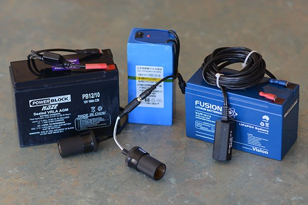 Lead-Acid gel cell Lithium Ion and LiFePO4 batteries