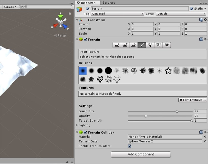 Paint Texture - Texturing with brushes