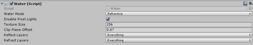 Water Pro - Scripting