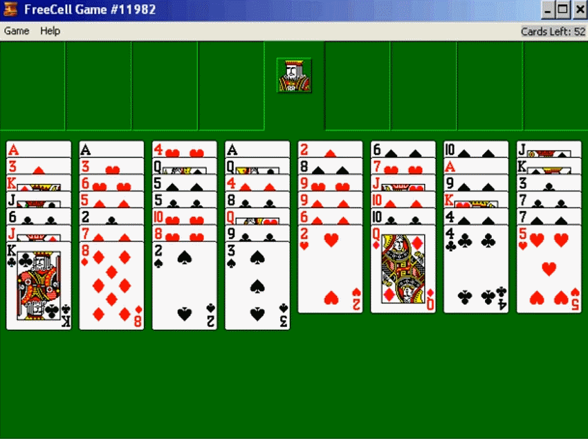 Freecell game image