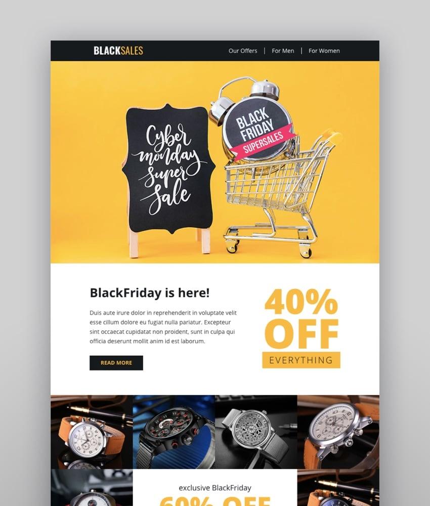 BlackSales Email-Template Online Builder