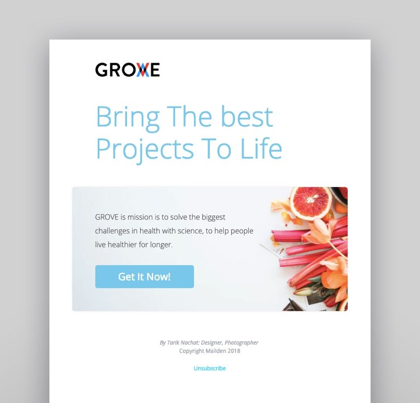 Grove - Email Startup Notifications