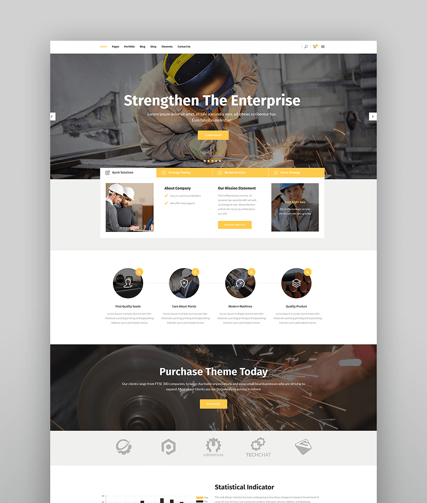 Industrialist - Industry  Manufacturing Theme