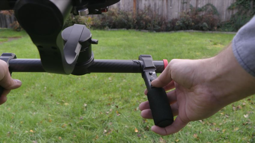 Some gimbals have a toggle built in to the gimbal itself