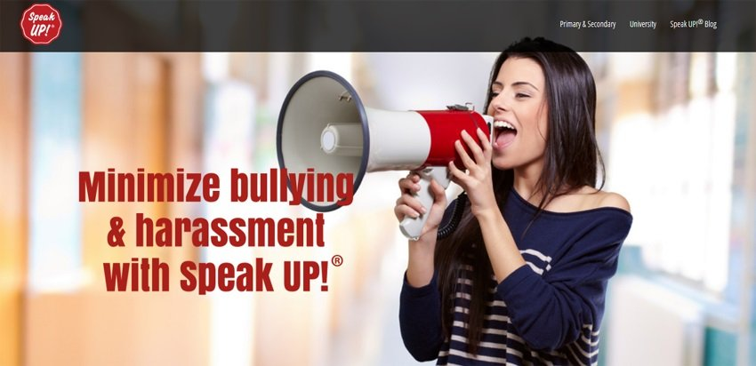 Minimize bullying and harassment with Speak Up