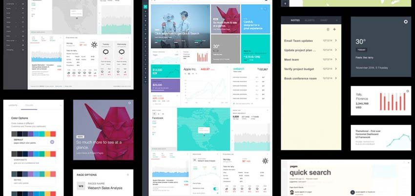 Pages Admin Dashboard Template