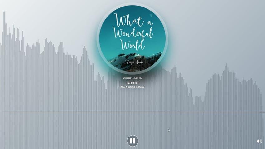 Native WordPress audio plugin demo