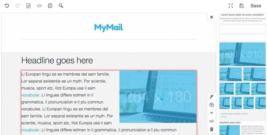 Mailster newsletter creation