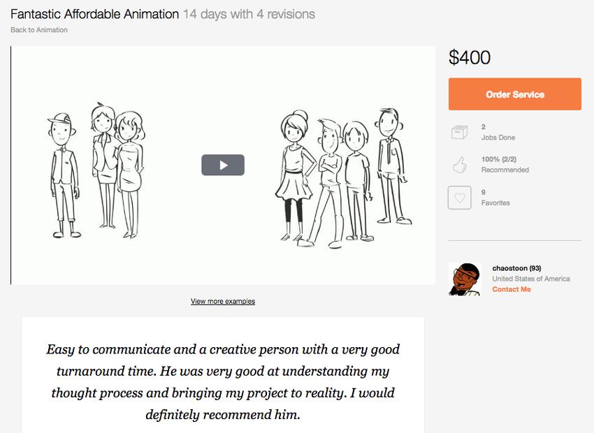 Fantastic Affordable Animation