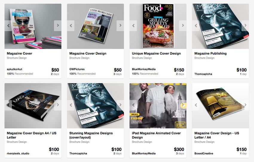 Magazine Design from Envato studio