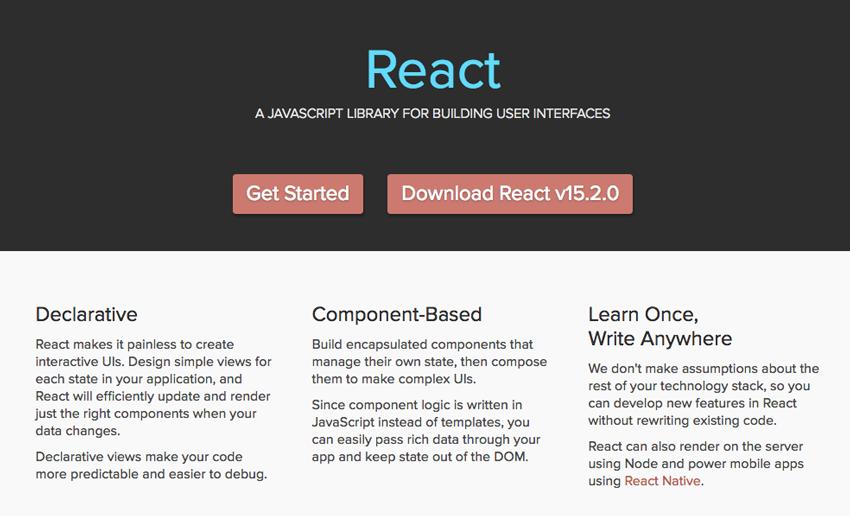 React website