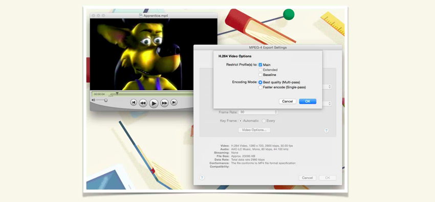 Screenshot from What is a Codec course lesson