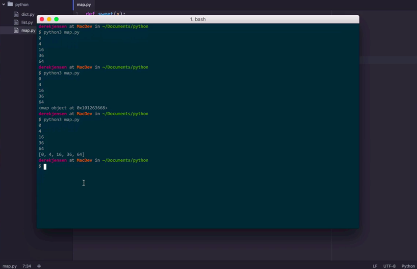 Screenshot from Data Handling With Python course on Envato Tuts