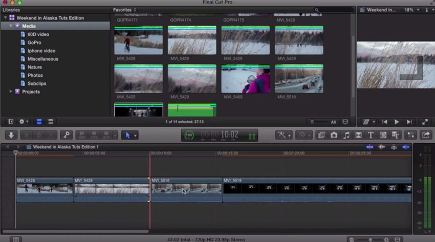 How to Use the Magnetic Timeline in Final Cut Pro X