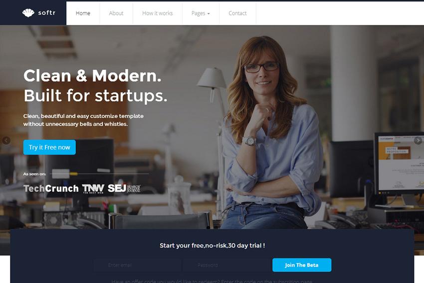Ela - Business BS Template