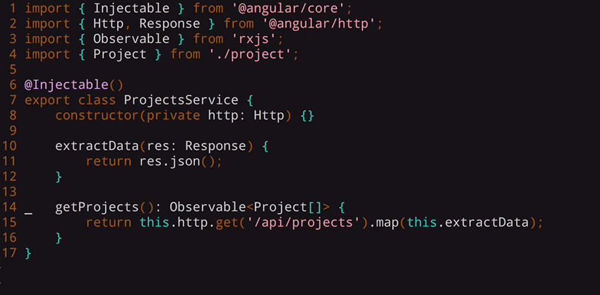Code to convert the Http response that returns to the actual JSON body