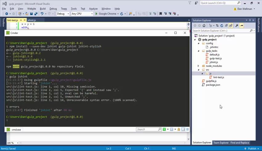 Code from Essential Gulp Tasks course