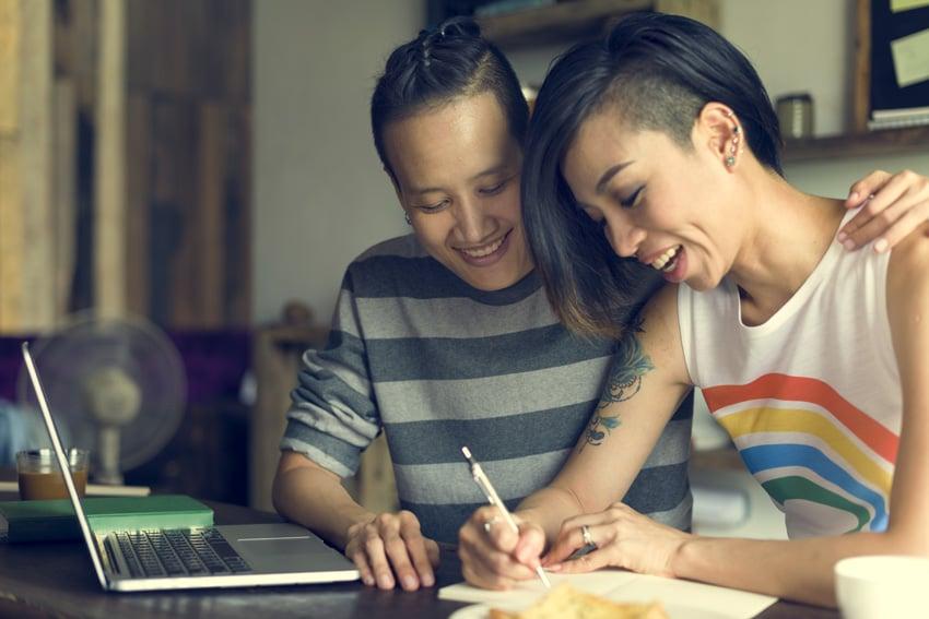 Happy couple image on Envato Elements