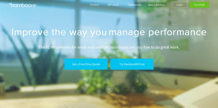 BambooHR website