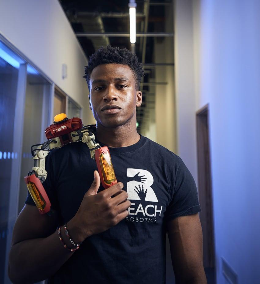 Silas Adekunle of Reach Robotics