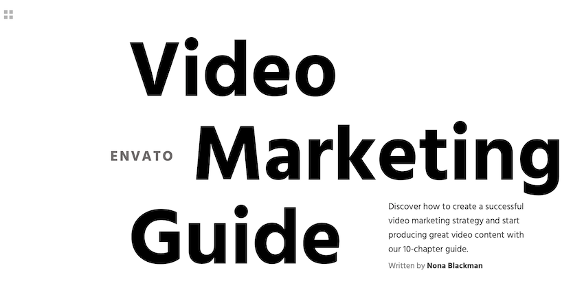 Free video marketing guide