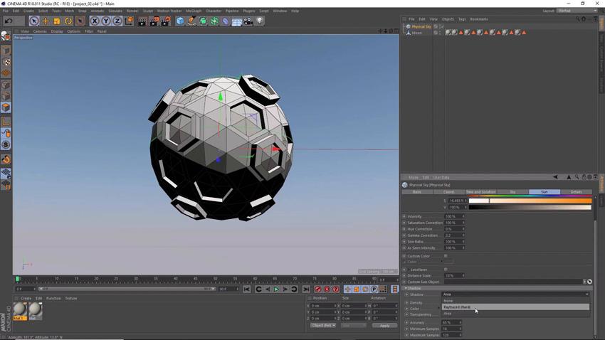Cinema 4D screenshot