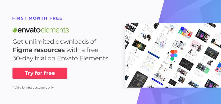 Figma Resources on Envato Elements