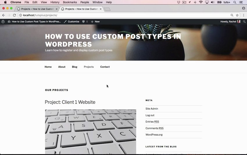 How to Use Custom Post Types in WordPress