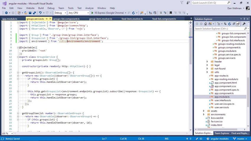 Better Angular App Architecture With Modules screenshot