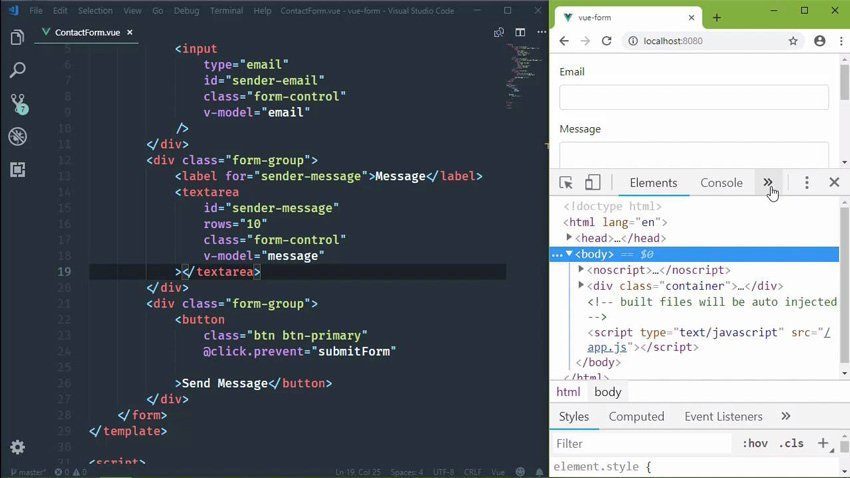 Three Practical Examples to Learn Vuejs