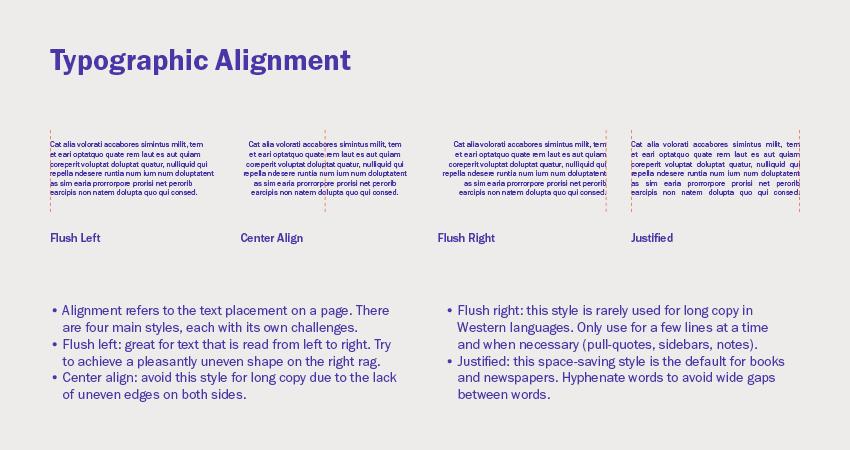 Typographic alignment