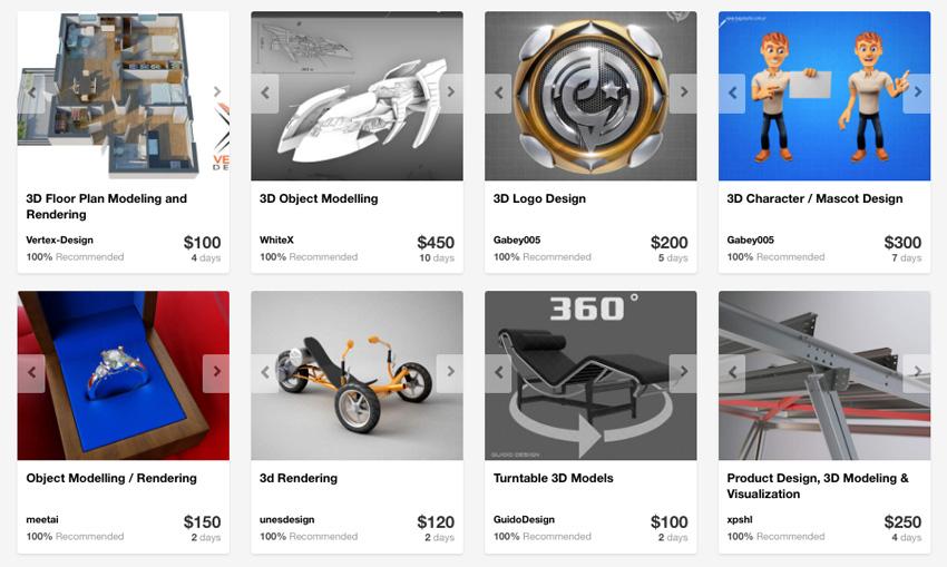 3D Design Modeling services