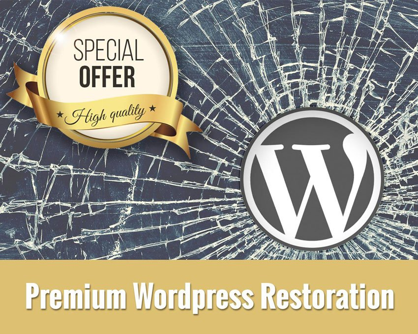 Premium Wordpress Restoration