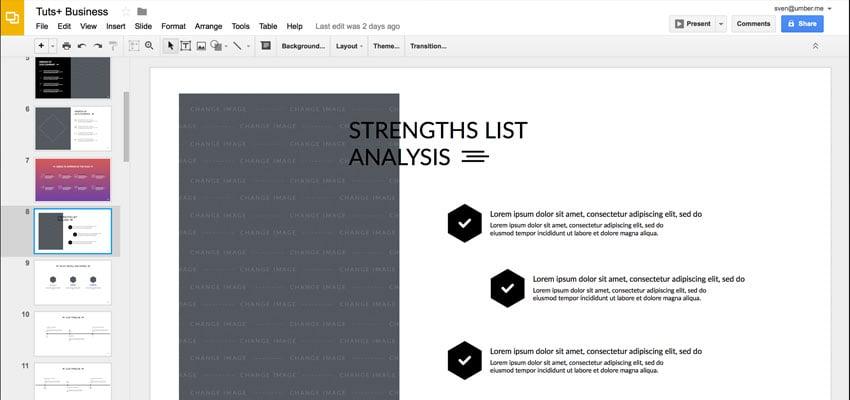 Google Slides Services Design Customization