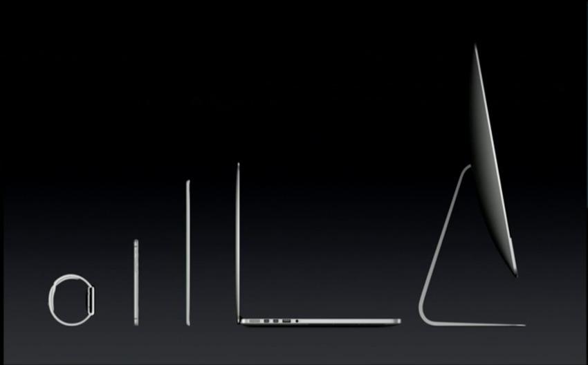 Apple presentation example