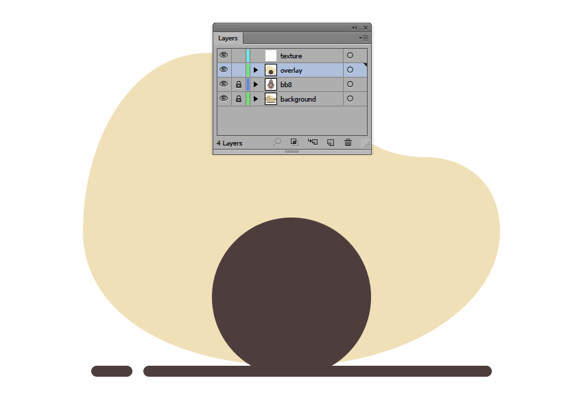 creating a copy of the shapes needed to create the gradient overlay