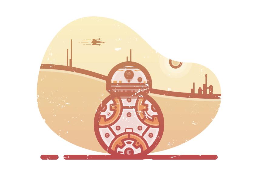 illustration finished
