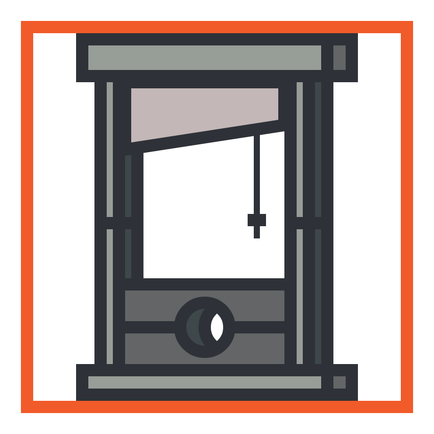 adding the rope handle to the guillotine icon