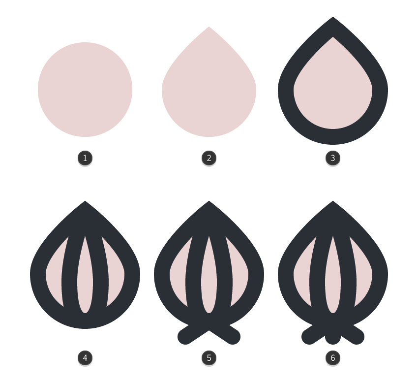 creating the little garlic
